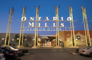 Exterior Channel Letter for Ontario Mills Fashion District Outlet Mall in San Bernardino County, California by BlackCoffee Signs, Awnings, Canopies Fabricators